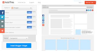 Cara Menambahkan Smart Layers di Blog dari AddThis