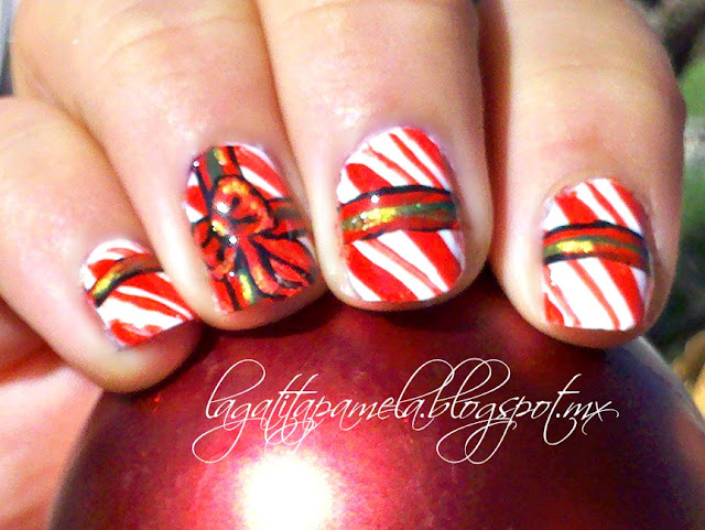 christmas presents nails