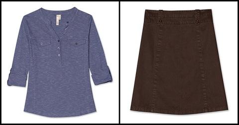 Aventura Clothing shirt skirt