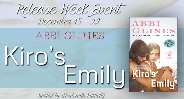 Release Week Event – Kiro's Emily by Abbi Glines