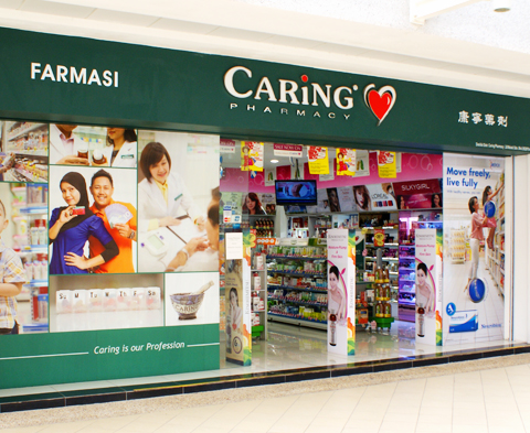 Caring Pharmacy store