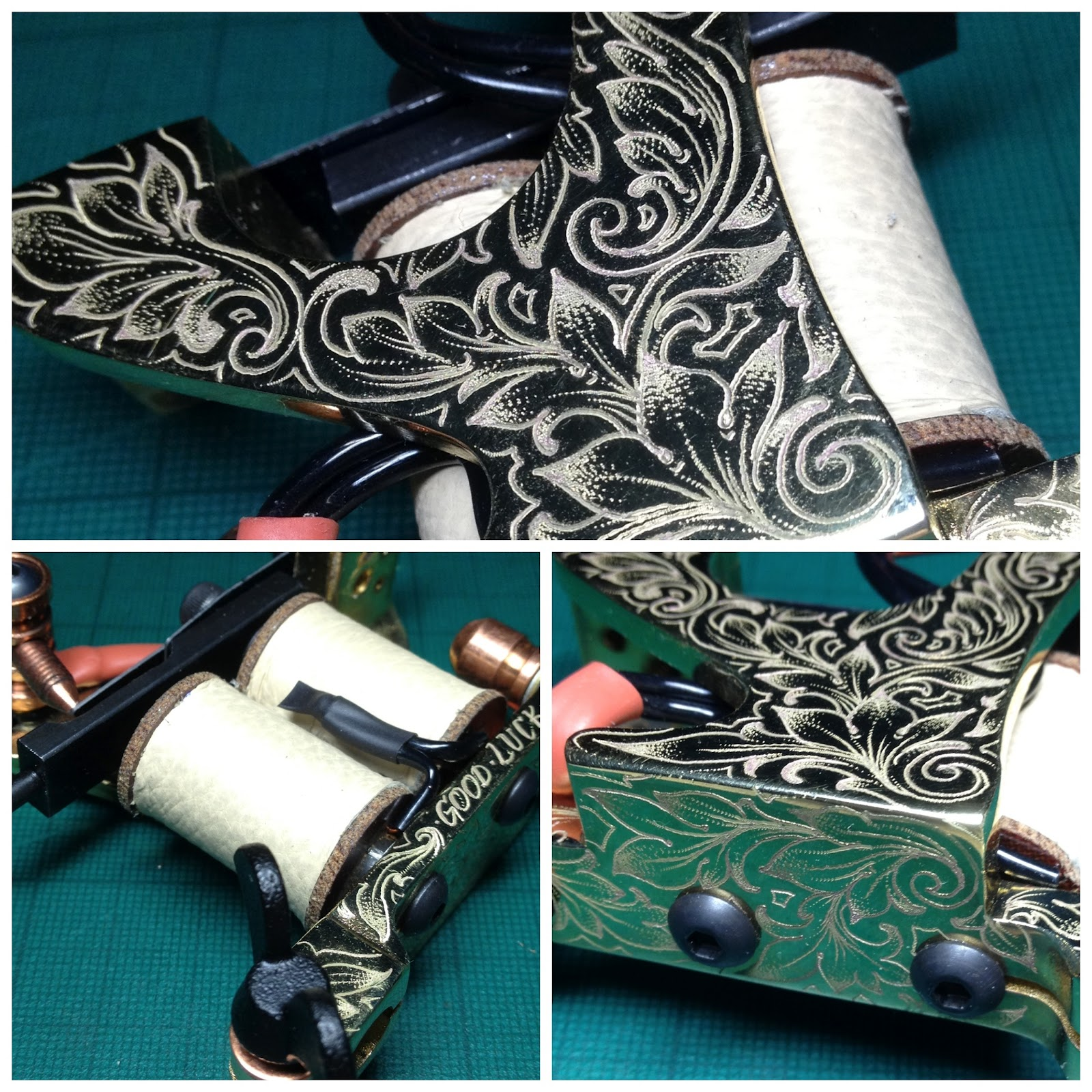 Royal machinery latest engravings and builds for How much does a tattoo gun cost