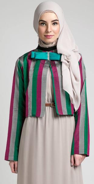 15 Gambar Desain Baju Muslim Kerja untuk Wanita