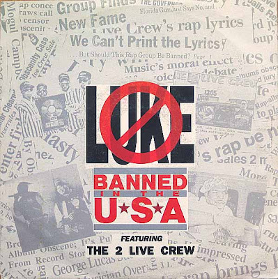 Luke & 2 Live Crew – Banned In The USA (VLS) (1990) (320 kbps)