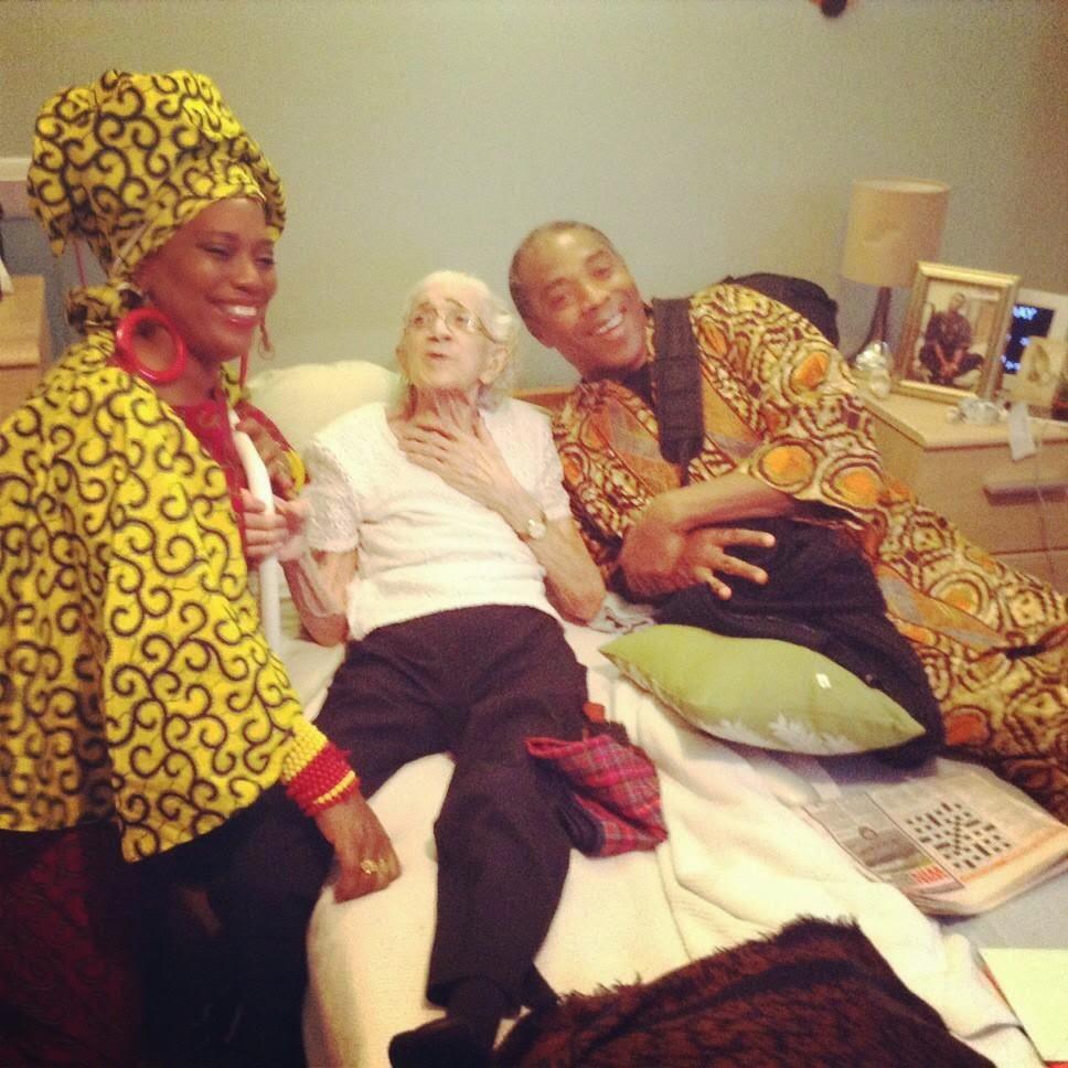 Yeni and Femi Kuti Celebrate Their Grandma's Birthday – Photo