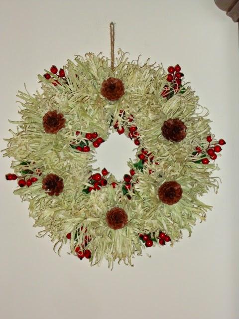 Corn Husk Wreath Class