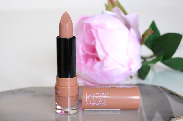 kiss cosmetics, sheerstick, lipstick, dewy neutral
