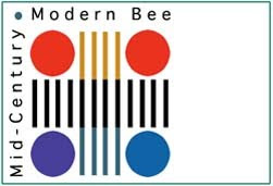 Mid-Century Modern Bee