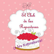 Ya soy del club de las reposteras