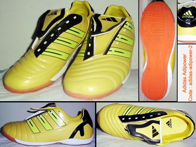 sepatu futsal adidas adipower braded