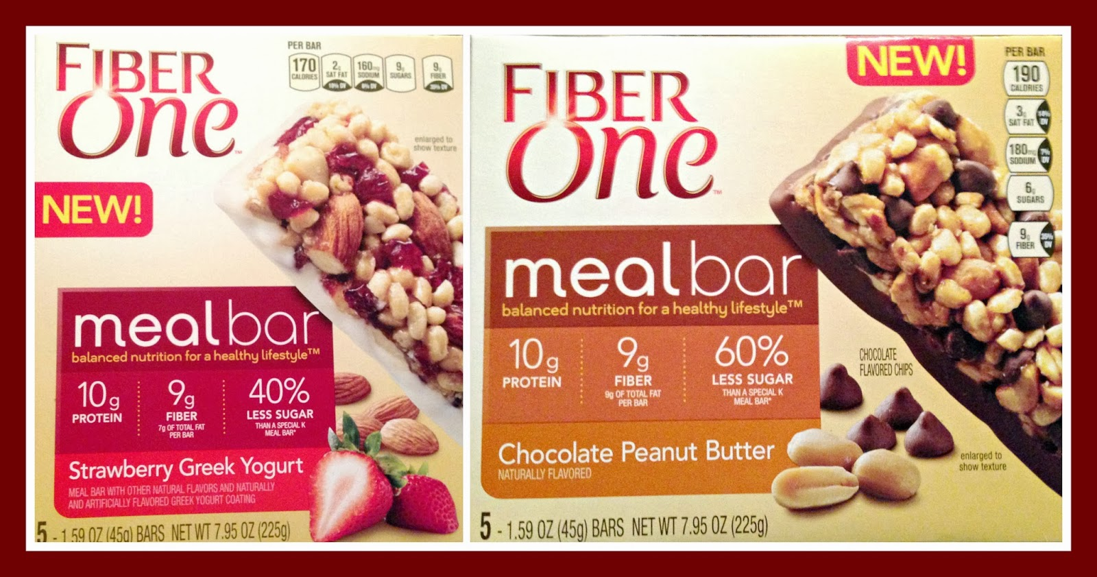 Fiber  Chocolate Peanut Butter Meal Bar