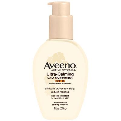 Aveeno ultra calming daily moisturizer