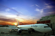 Thank you Delta Airlines for helping families affected with Autism! (delta airlines sunset)