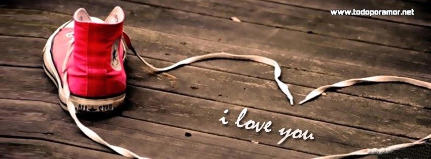 Diseños romanticos en portadas para Facebook