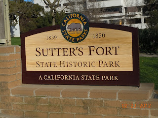 sutters fort sign