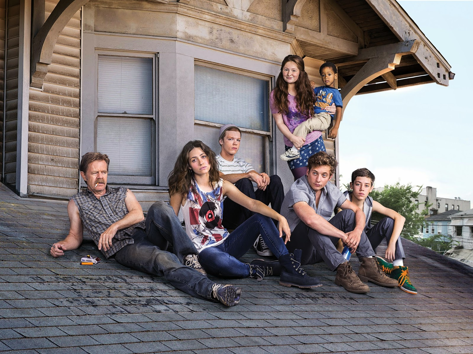 The Gallagher clan is back for a fourth season of Shameless