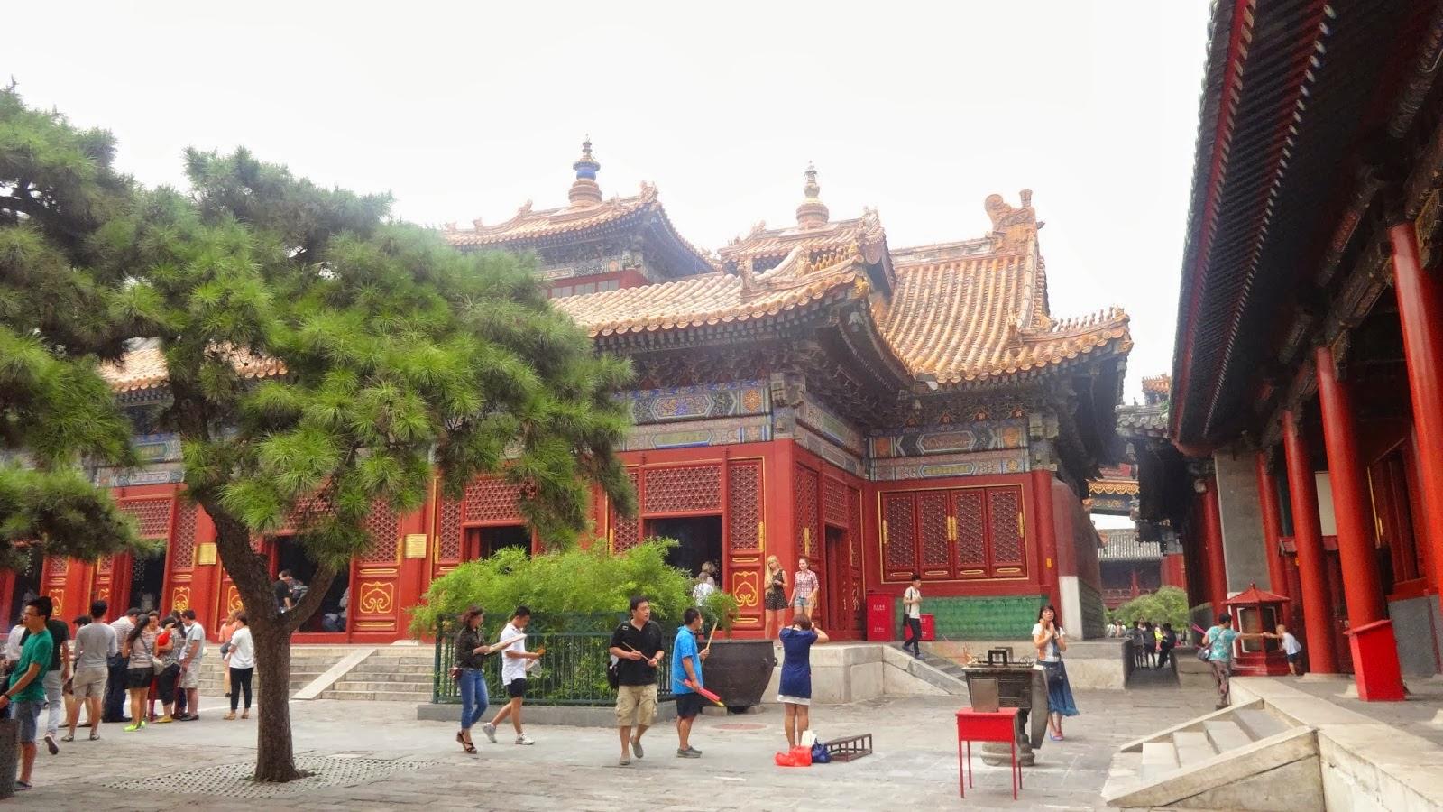 Templo de los Lamas en Beijing, China   ViajeroTurismo