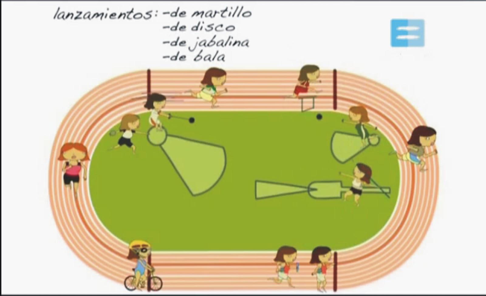 video de atletismo: