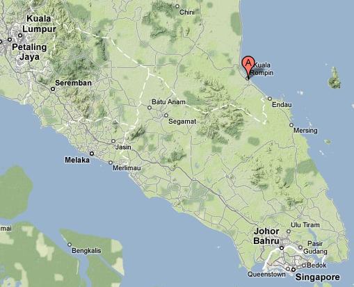 Kuala Rompin Malaysia  city images : LOKASI MEMANCING SAILFISH DI MALAYSIA
