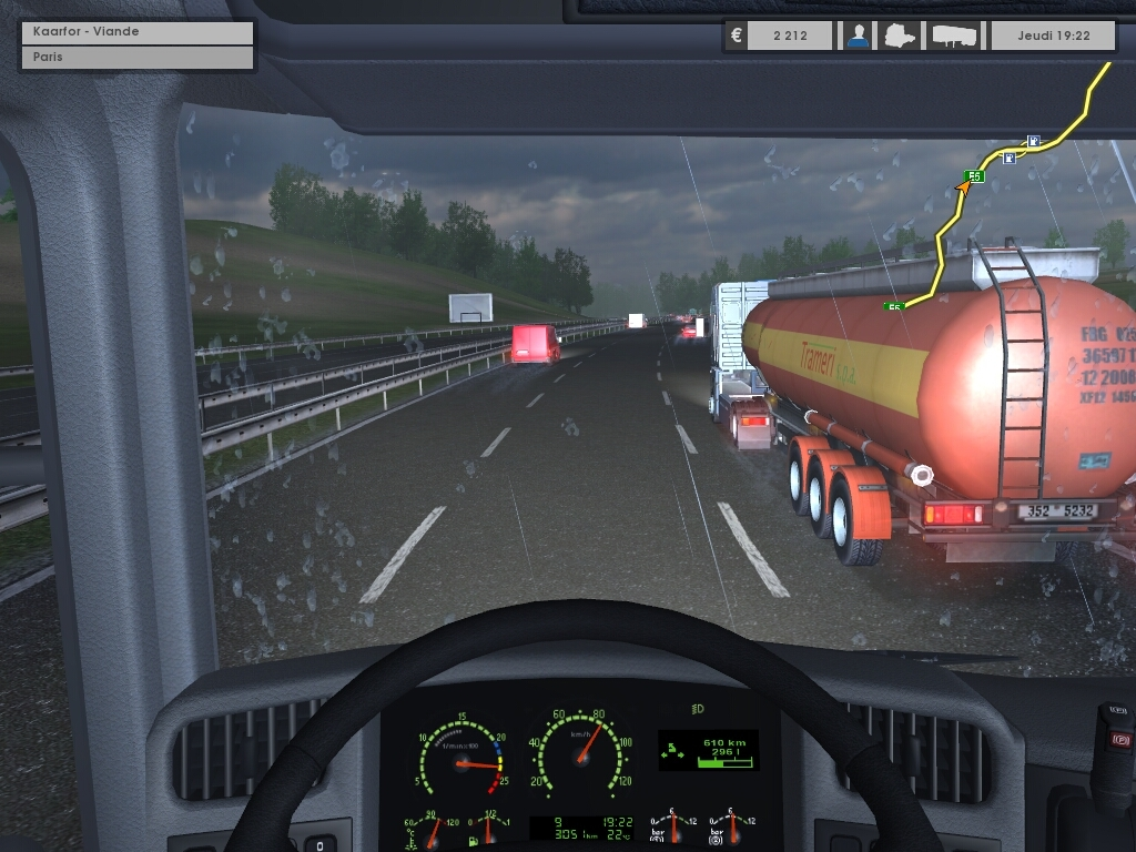 Pc euro truck simulator gameplay