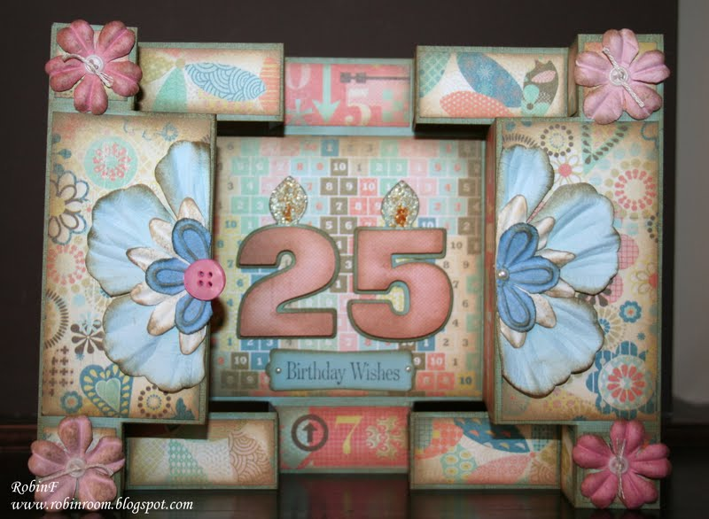 Robins Room 25th Birthday Card – Funny 25th Birthday Cards