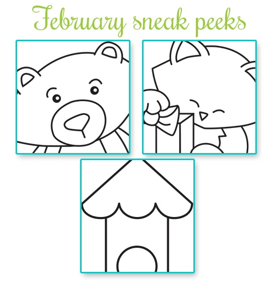 February Release Sneak Peeks from Newton's Nook Designs