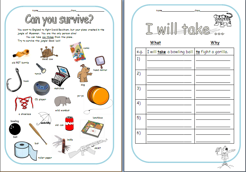 Crash Book Activities submited images.