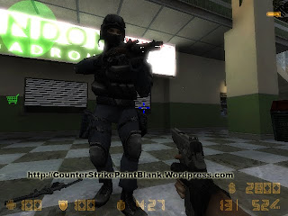 Download Point Blank SWAT Blue Camo Character Skin for Counter Strike