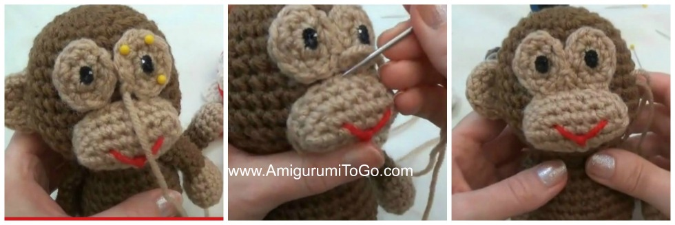 Amigurumi To Go Bigfoot Bunny : Little Bigfoot Monkey Revised Pattern Video Tutorial ...