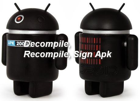Cara Compile dan Decompile APK untuk Modding