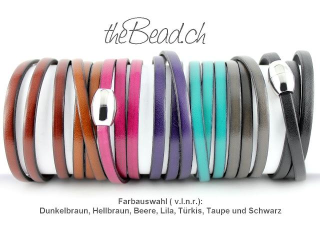 Gravur Armband in verschieden Farben bei theBead.ch erhaeltlich