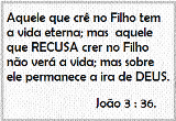 Versículo p/ Memorizar.