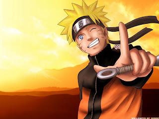 Naruto saludando