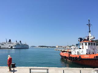 laivoja splitin satamassa