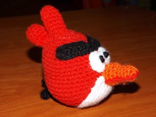 Amigurumi Angry bird red