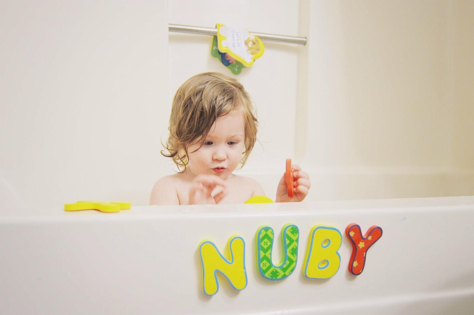 The Joyful Tribe Nuby Review Nuby Foam Bath Letters