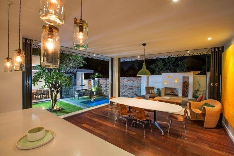 Hogares frescos antigua casa de campo en australia - Interiores casa de campo ...