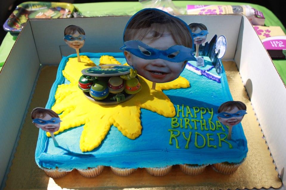Ninja Turtle Shell Cake Ninja Turtle Cupcake Cake