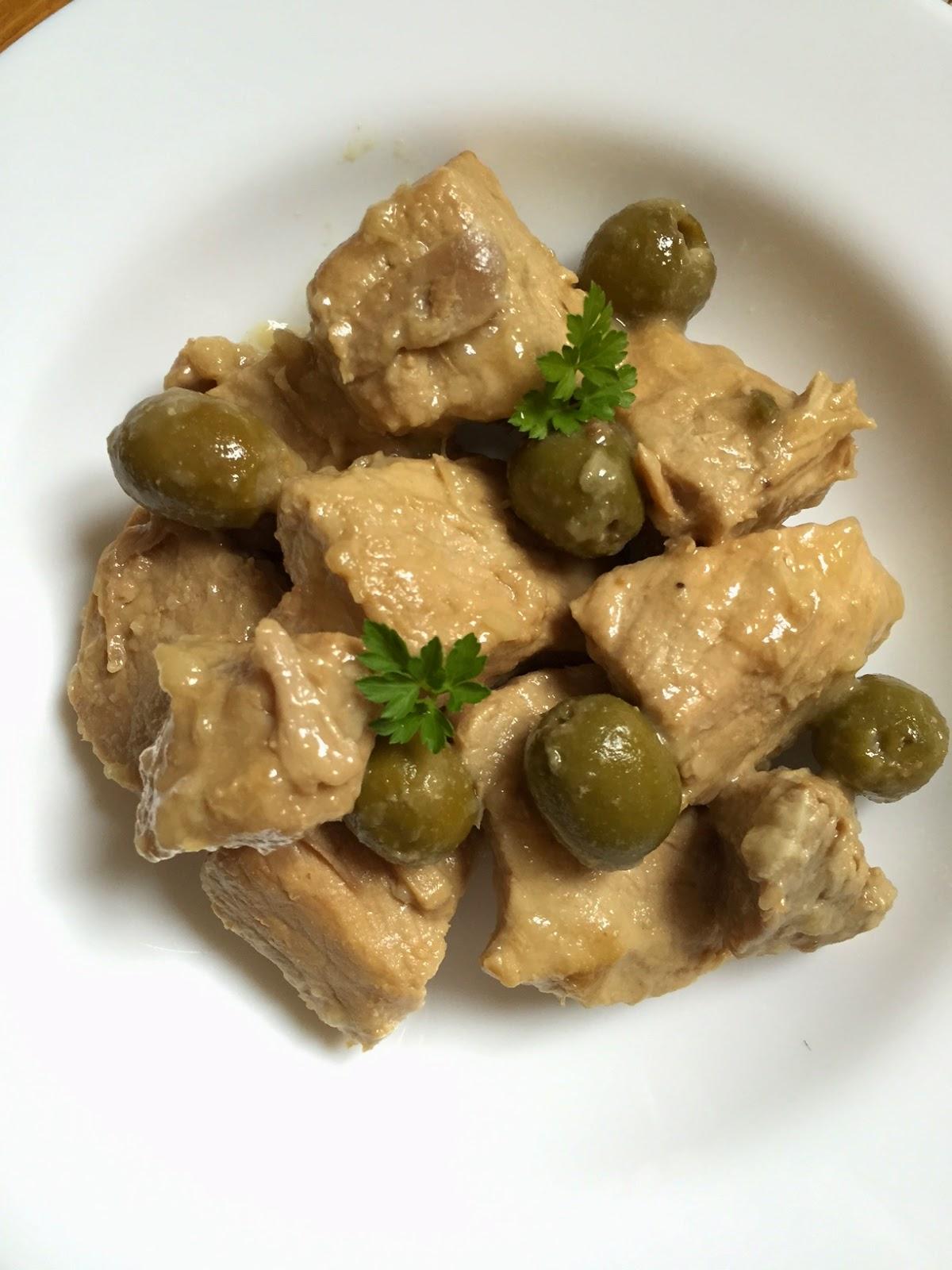 Ulrique cuisine saut de porc aux olives - Saute de porc cocotte minute ...