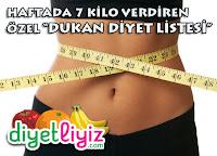 dukan diyet listesi