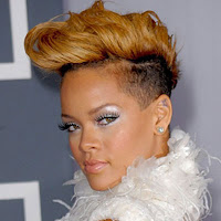 rihanna short good blonde