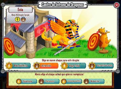 imagen de los ataques del dragon faraon