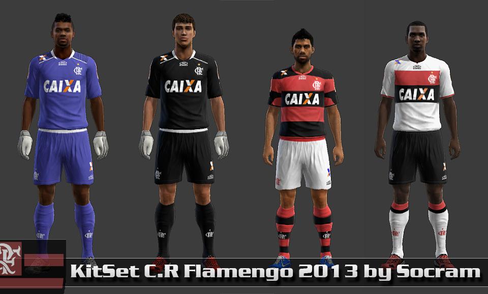 C.R Flamengo 13-14 KitSet - PES 2013