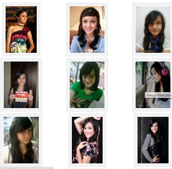 Itulah profil biodata dan foto Nasya Marcella.