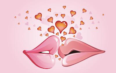 Imagenes de Besos y frases