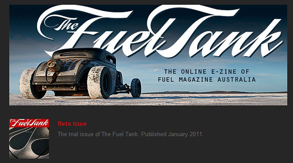 Just A Car Guy: Fuel Magazine has just added an online Zine, it\'s ...