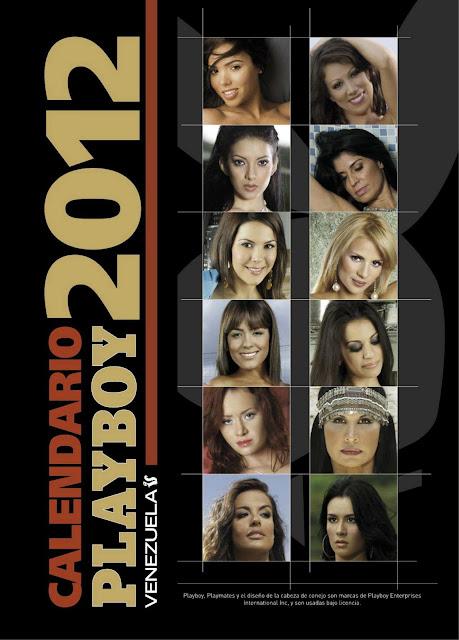 Calendario Playboy Venezuela 2012