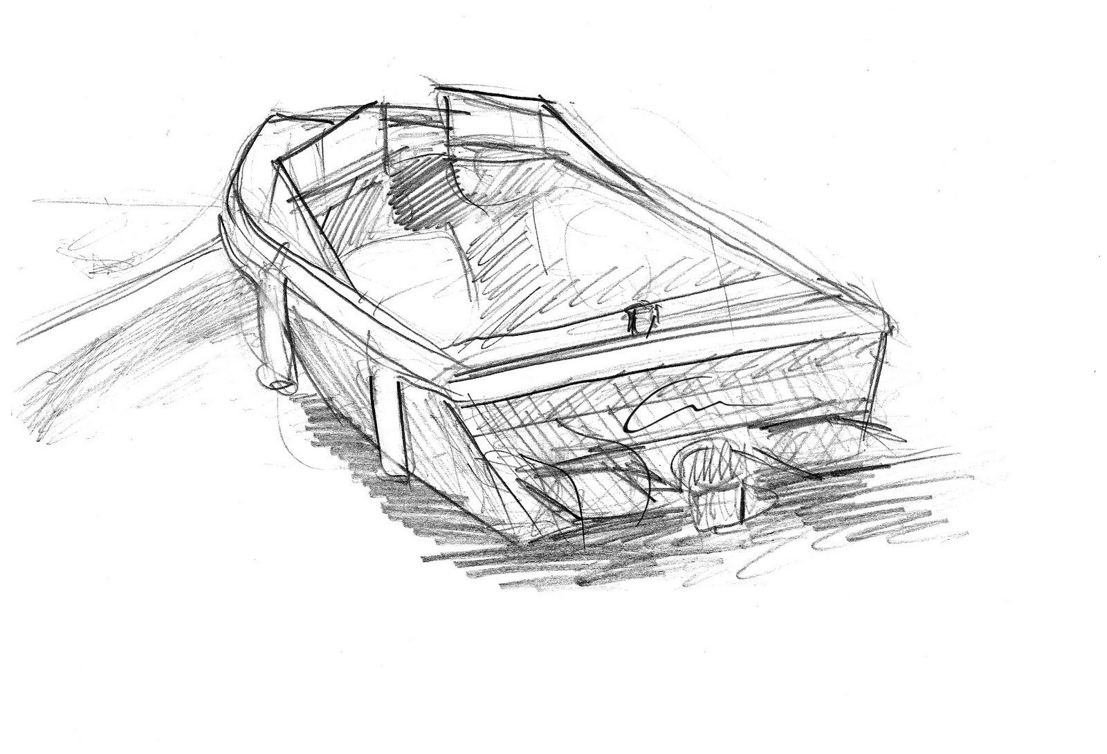 лодка sketchup