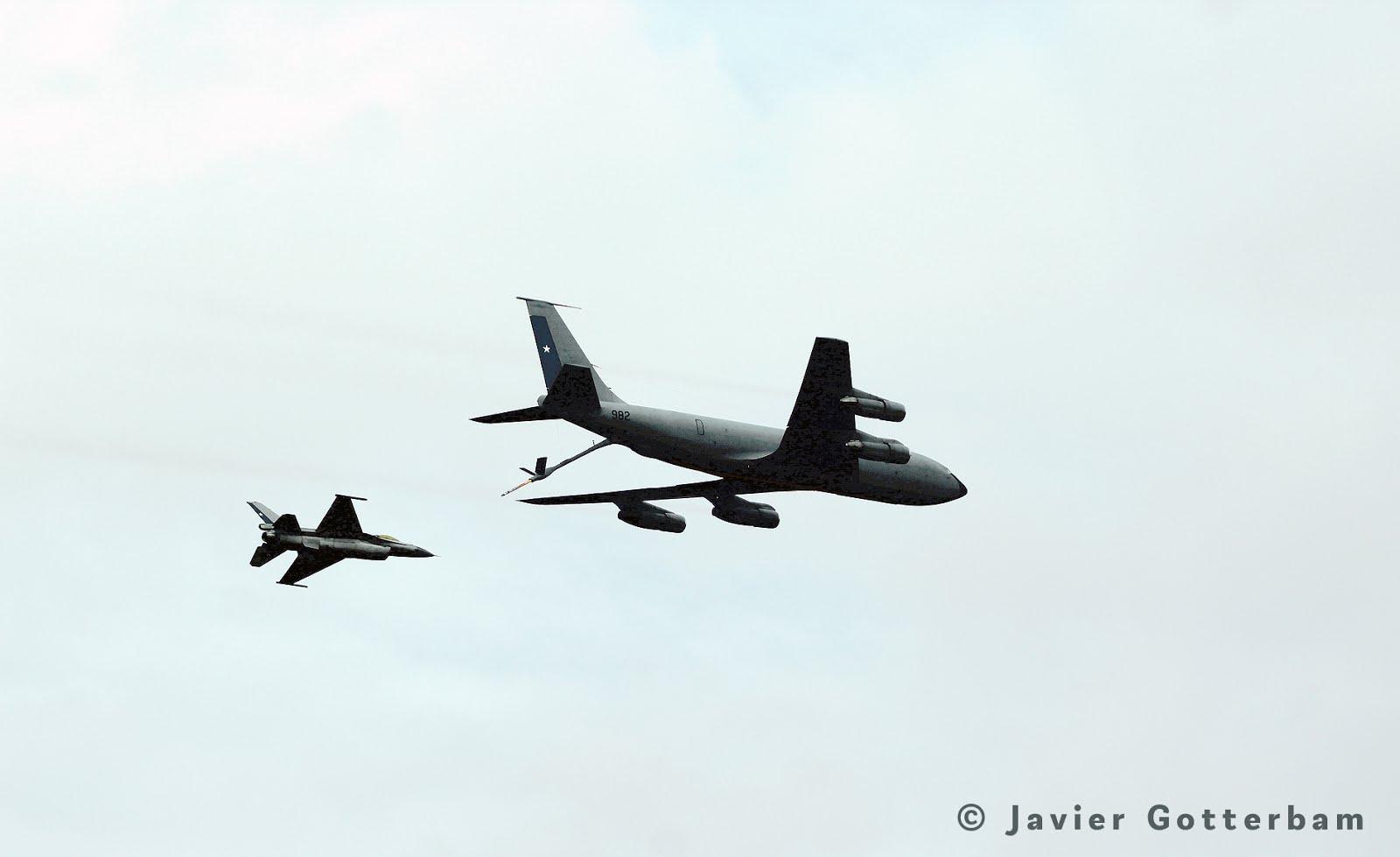 KC-135E, MULTIPLICADOR de PODER