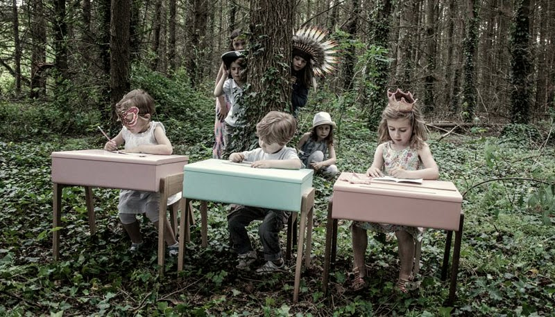 escritorios infantiles de diseño